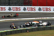 Formel 1 - Niemand will einem anderen rein fahren: Bruno Senna