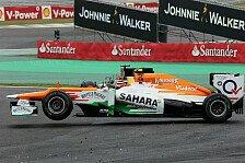 Formel 1 - H�lkenberg h�tte in Brasilien gewinnen k�nnen: Alguersuari: Force India zuletzt sehr stark