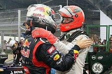 Formel 1 - Vettrick: Video - Gl�ckw�nsche an Sebastian Vettel