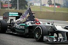 Lob von Wolff: Schumacher brachte Mercedes auf die Erfolgsspur
