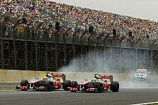 Formel 1 - Hamilton steckt voller Selbstvertrauen: Button: Mercedes ist uneinholbar