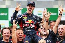 Formel 1 - Erster Matchball f�r Vettel: So wird Vettel in Indien Weltmeister