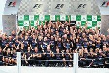 Formel 1 - 10.000 Pfund f�r jedes Teammitglied: Red Bull: Weltmeisterliche Pr�mie f�r Mitarbeiter