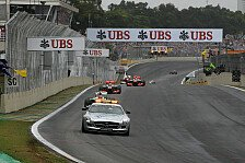 Formel 1 - Pl�tzlicher Regen und Safety Car als Spannungselemente: Brasilien: Strategie-Vorschau
