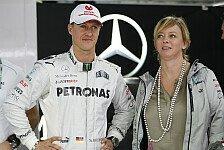 Formel 1 - Hochachtung f�r die Familie: Schumacher-Managerin Kehm: Es kann lange dauern