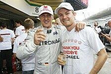 Formel 1 - Rosberg & R�ikk�nen bestechen durch Konstanz: Teil 3: Teamkollegen im Vergleich