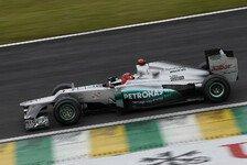 Formel 1 - Video: Formel-1-Mercedes beim Beschleunigungsrennen