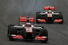 Formel 1 - Saisonrückblick 2012: McLaren