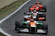 Formel 1 - Endlich l�nger bei einem Team?: H�lkenberg �rgert sich nicht �ber Paydriver
