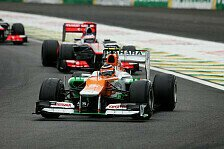 Formel 1 - Bilderserie: Saisonr�ckblick 2012: Force India