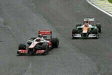 Formel 1 - McLaren auf Distanz halten: Fernley: Beide Fahrer m�ssen punkten