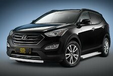 Auto - Brandaktuell von Cobra Technology & Lifestyle : Off Road Optik f�r den Hyundai Santa Fe