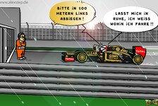 Formel 1 - Iceman hat den Plan: Comic: R�ikk�nens Odyssee