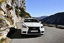 Auto - Weitere fortschrittliche Sicherheitsfeatures: Adaptiver Fernlichtassistent f�r den Lexus LS
