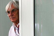 Formel 1 - Technisches Reglement sorgt f�r �rger: Ecclestone braucht kein Concorde-Agreement
