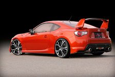 Auto - GT86 meets Tzunamee: Toyota GT86 mit Barracuda Racing Wheels