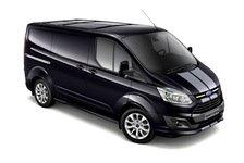 Auto - Viel Leistung und ein dynamisches Styling: Starker Auftritt des Ford Transit Custom Sport