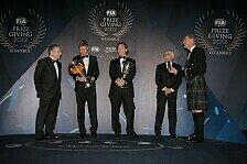 Formel 1 - Kr�nung f�r Vettel: Video - Die Highlights der FIA Awards 2012