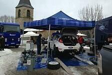 WRC - Schwierige Bedingungen: �stberg freut sich �ber viel Arbeit