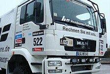 Dakar - 780 PS verteilt auf 16 G�nge: HS RallyeTeam setzt auf 780 PS-Monster