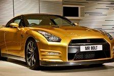 Auto - Geldsegen f�r den Au�erirdischen: 148.000 Euro f�r Nissan Bolt Gold GT-R