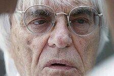 Formel 1 - Tue mein Bestes: Ecclestone will Deutschland nicht verlieren