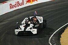 Mehr Motorsport - Im Finale gegen Tom Kristensen: RoC - Halbfinale: Grosjean schaltet Schumacher aus