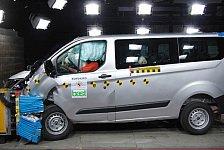 "Auto - Zwei ""Advanced Awards"" f�r Sicherheitstechnologien: Ford Transit Custom erh�lt f�nf Euro NCAP-Sterne"