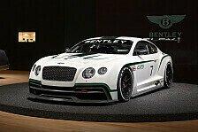 Sportwagen - Ogier testet GT3-Bentley