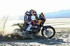 Dakar - Wie ein Bulle im K�fig: Video - Cyril Despres �ber die Dakar 2013