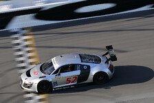 Mehr Sportwagen - Gro�angriff auf GT-Sieg: 24 Stunden Daytona: Audi setzt Werksfahrer ein
