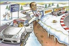 Formel 1 - Hamiltons Flucht : Ecclestones kultige Weihnachtskarte