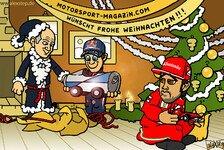 Formel 1 - Die schnellste Getr�nkedose der Welt: Comic: Sch�ne Bescherung