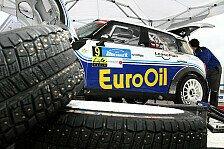 Rallye - ERC - Tschechischer Meister lacht von der Spitze