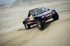 Dakar - Peterhansel f�hrt weiter die Dakar an: Dritter Etappensieg f�r Al-Attiyah