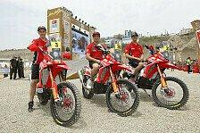 Dakar - Rodrigues lobt verbesserte Maschine: Bikes: Honda f�r Angriff auf KTM bereit