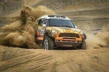 Dakar - Vier MINI ALL4 Racing in den Top 10: Ordentlicher Start f�r Monster Energy X-raid Team