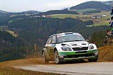 Rallye - ERC - Pech im Glück