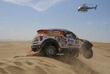Dakar - Wieder ein Erfolgserlebnis: Es l�uft wieder f�r Schott/Schmidt