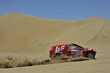 Dakar - T�cken der peruanischen D�nen: Kahle/Sch�nemann: Wertvolle Minuten verloren