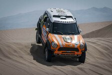Dakar - Harte Etappe mit schwieriger Navigation: Erster Tagessieg f�r Monster Energy Team