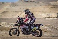Dakar - Erfolg trotz Sturz und Motorwechsel: Erneuter Podiumsplatz f�r Husqvarna Rallye Team