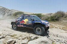 Dakar - Peterhansels Vorsprung schmilzt: 6. Etappe: Al-Attiyah f�hrt zur Halbzeit