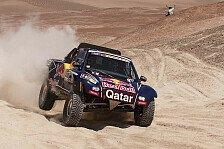 Dakar - Chicherit verlor auf den letzten Metern den Sieg: Al-Attiyah gewinnt auch die 4. Etappe