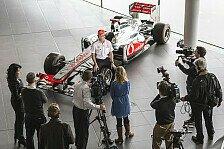 Formel 1 - Michael best�tigt positiven Eindruck: Perez mit gutem McLaren-Einstand