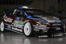 WRC - Denken noch nicht an die WM: M-Sport pr�sentiert neuen Boliden