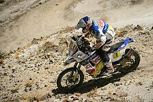 Dakar - Despres macht Boden gut: Lopez gewinnt Berg-Etappe