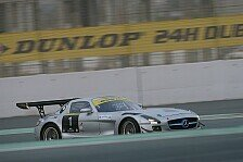 Mehr Sportwagen - Erst in die Mauer, dann auf die Pole: Dubai: Black Falcon auf Pole