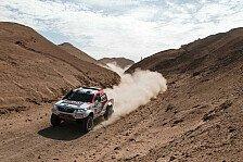 Dakar - Viel erreicht, nichts gewonnen: Giniel De Villiers/Dirk von Zitzewitz