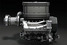 Formel 1 - Der Klang ist gut: Mercedes zeigt den V6 1,6 Liter Turbo